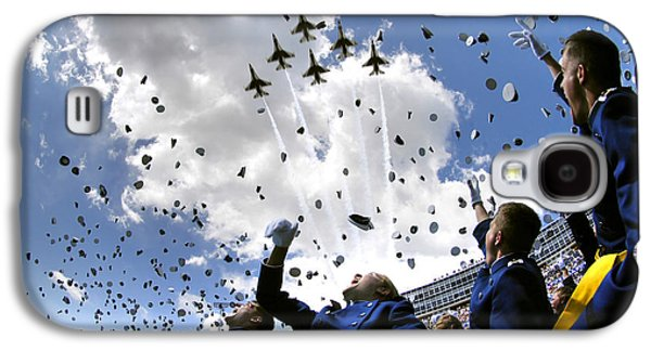 U.s. Air Force Academy Graduates Throw Galaxy S4 Case by Stocktrek Images