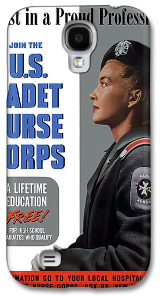 Us Cadet Nurse Corps - Ww2 Galaxy S4 Case by War Is Hell Store