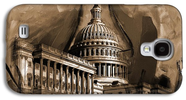 Capitol Building, Washington, D.c-001 Galaxy S4 Case by Gull G
