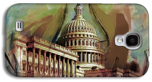 Capitol Building, Washington, D.c -006 Galaxy S4 Case by Gull G