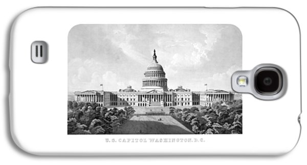 Capitol Building Galaxy S4 Case - Us Capitol Building - Washington Dc by War Is Hell Store