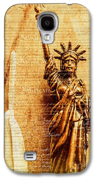 Us Constitution Galaxy S4 Case by Jorgo Photography - Wall Art Gallery