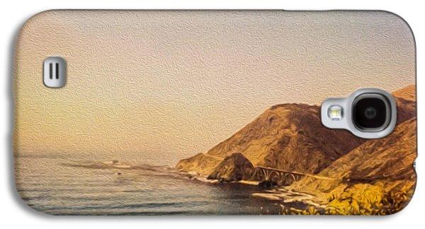 California Highway One Galaxy S4 Case