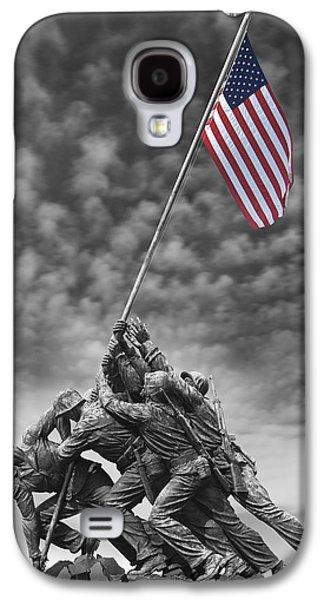 Us Marine Corps War Memorial Galaxy S4 Case by Mike McGlothlen