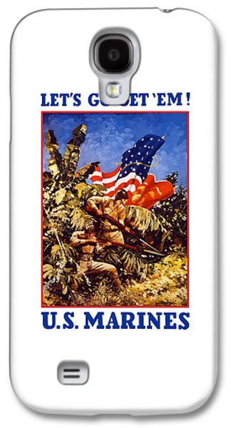 Us Marines - Ww2  Galaxy S4 Case by War Is Hell Store
