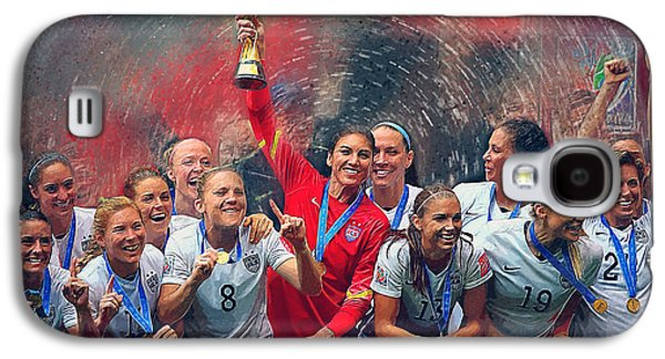 Us Women's Soccer Galaxy S4 Case