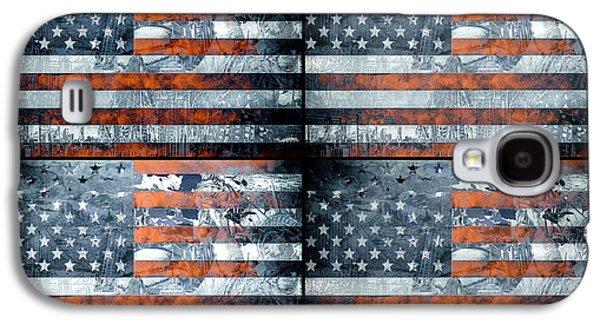 July 4 Galaxy S4 Case - Usa Flag 9 by Bekim Art
