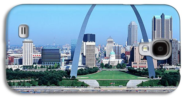 Stainless Steel Galaxy S4 Case - Usa, Missouri, St. Louis, Gateway Arch by Panoramic Images