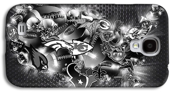 Usa Nfl Map Collage 7 Galaxy S4 Case