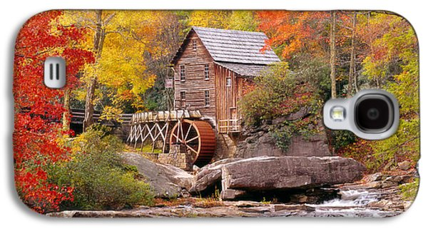 Usa, West Virginia, Glade Creek Grist Galaxy S4 Case by Panoramic Images