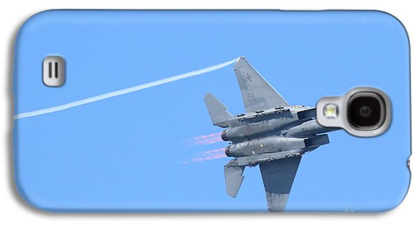 Fleeting Galaxy S4 Cases - USAF F-15 Strike Eagle . 7D7864 Galaxy S4 Case by Wingsdomain Art and Photography