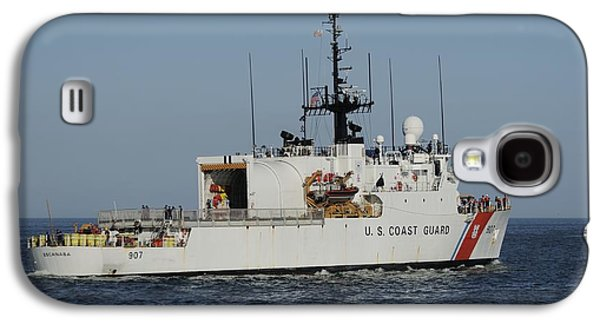 Uscgc Escanaba Heads To Sea Galaxy S4 Case