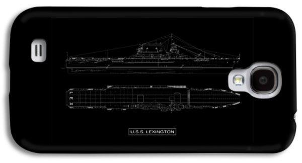 Uss Lexington Galaxy S4 Case