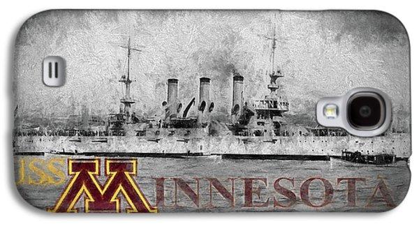 Uss Minnesota Galaxy S4 Case by JC Findley