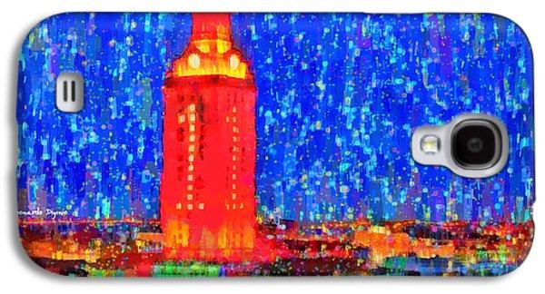 Ut Austin Tower - Da Galaxy S4 Case