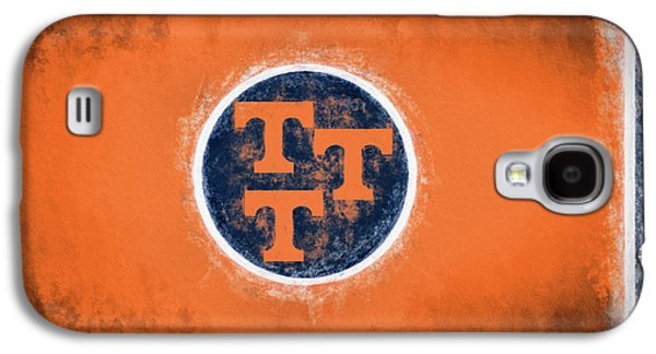 Galaxy S4 Case featuring the digital art Ut Tennessee Flag by JC Findley