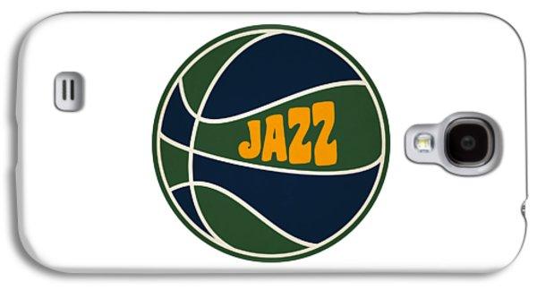 Utah Jazz Retro Shirt Galaxy S4 Case by Joe Hamilton