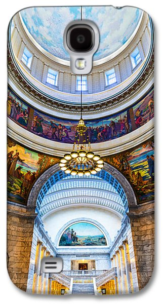 Utah State Capitol Rotunda #2 Galaxy S4 Case