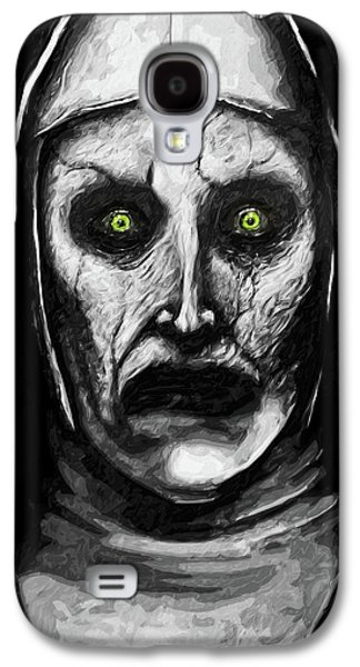 Valak The Demon Nun Galaxy S4 Case by Taylan Apukovska