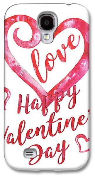 Valentine Galaxy S4 Case by Debbie DeWitt