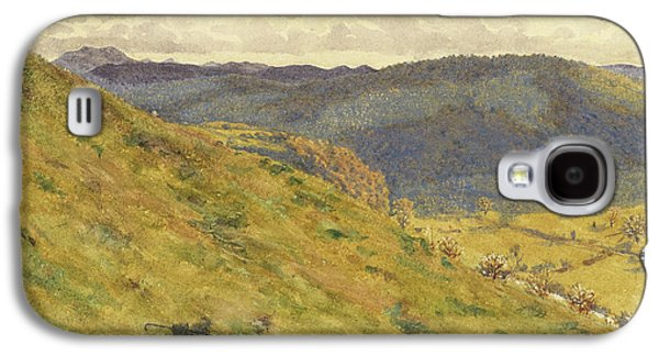 Valley Of The Teme, A Sunny November Morning Galaxy S4 Case by George Price Boyce