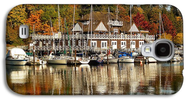 Vancouver Rowing Club In Autumn Galaxy S4 Case