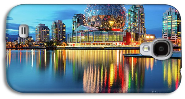 Vancouver Science World Galaxy S4 Case by Inge Johnsson