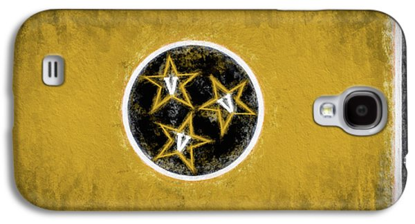Galaxy S4 Case featuring the digital art Vandy Tennessee State Flag by JC Findley