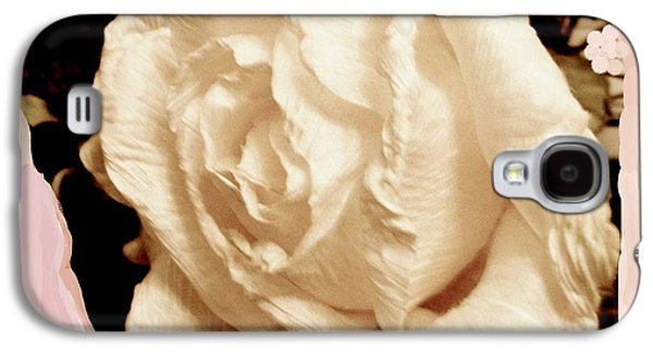 Vanilla Rose Galaxy S4 Case