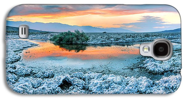 Vanilla Sunset Galaxy S4 Case by Az Jackson