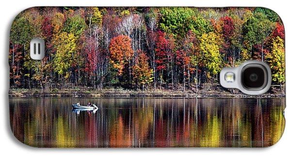 Vanishing Autumn Reflection Landscape Galaxy S4 Case
