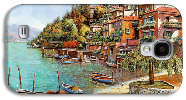 Varenna On Lake Como Galaxy S4 Case by Guido Borelli