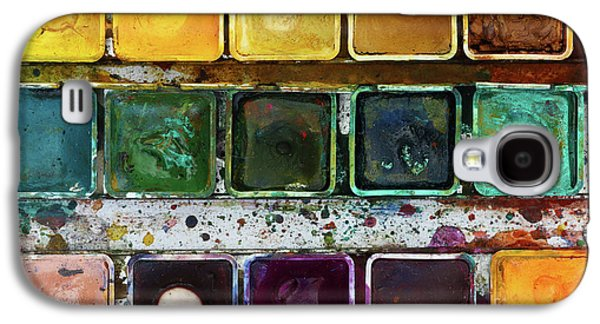 Various Watercolor Pigments In The Color-saucer Galaxy S4 Case