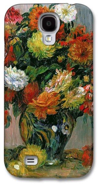 Vase Of Flowers Galaxy S4 Case by Pierre Auguste Renoir