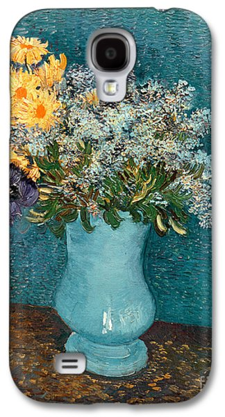 Vase Of Flowers Galaxy S4 Case by Vincent Van Gogh