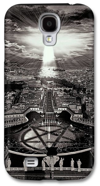 Vatican Rocking View Black And White Galaxy S4 Case