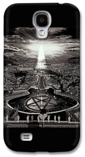 Vatican Rocking View Black And White Galaxy S4 Case by Marian Voicu
