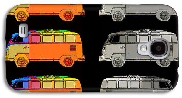 Vdub Surfer Bus Series Galaxy S4 Case