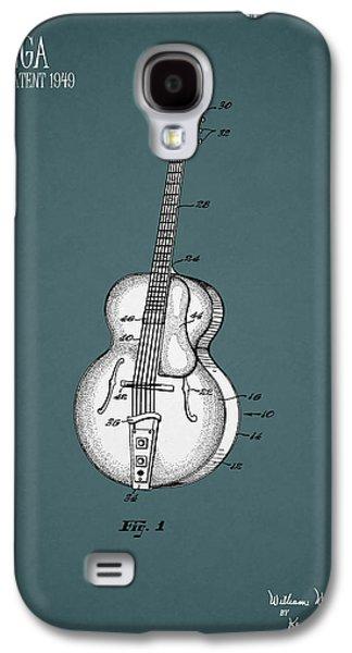 Guitar Galaxy S4 Case - Vega Guitar Patent 1949 by Mark Rogan