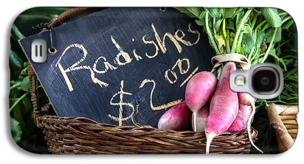 Vegetables Radishes Galaxy S4 Case by Betty Denise