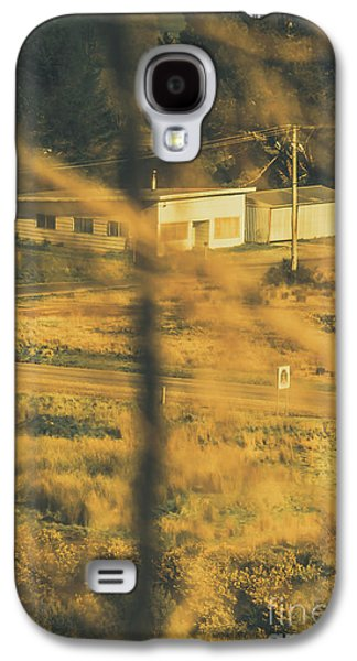 Vegitation View Of Rural Farm Homestead  Galaxy S4 Case by Jorgo Photography - Wall Art Gallery