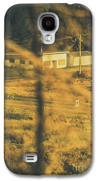 Vegitation View Of Rural Farm Homestead  Galaxy S4 Case