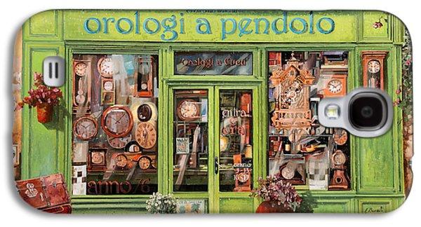 Vendita Di Orologi A Dondolo Galaxy S4 Case by Guido Borelli
