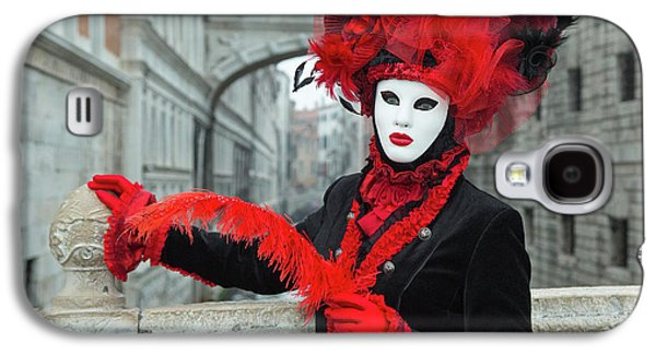 Venetian Lady At The Bridge Of Sighs Galaxy S4 Case