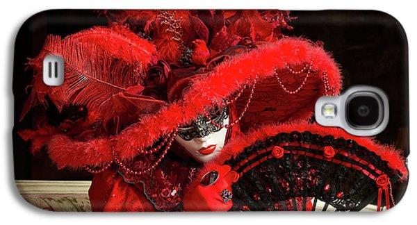 Venetian Lady In Red I  Galaxy S4 Case
