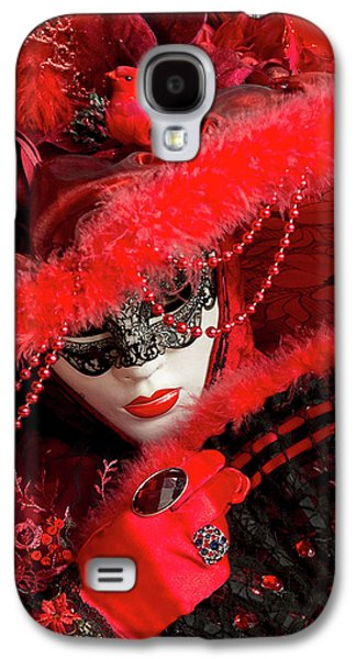 Venetian Lady In Red II  Galaxy S4 Case