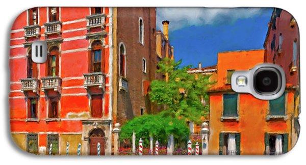 Venetian Patio Galaxy S4 Case by Juan Carlos Ferro Duque