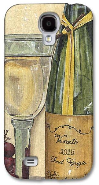 Veneto Pinot Grigio Panel Galaxy S4 Case by Debbie DeWitt