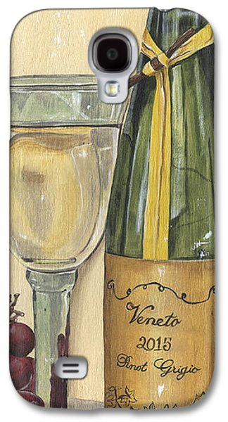 Veneto Pinot Grigio Panel Galaxy S4 Case by Debbie DeWitt