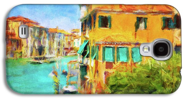 Venezia Afternoon Galaxy S4 Case by Connie Handscomb